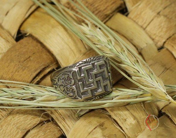 Кольцо Новородник литой