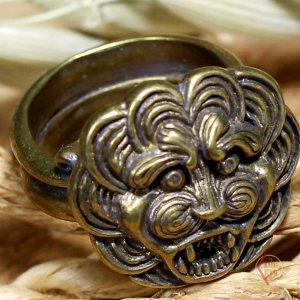 Кольцо Лев Греческий