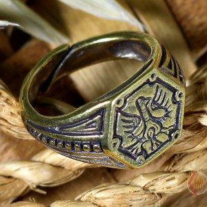 Кольцо Птица Сирин