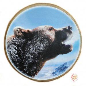 Бубен круглый 40см Медведь