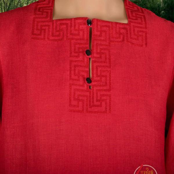 Рубаха Свастичная с коротким рукавом