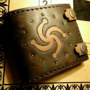 Кожаный кошелек. Символ Рода 3