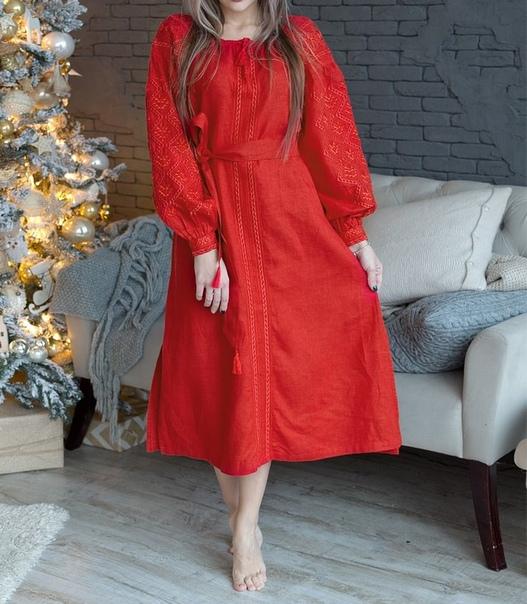 Славянское платье Древо Жизни