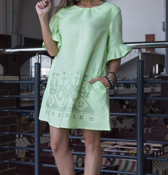 Славянское платье рожаница