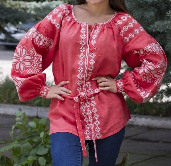 Славянская женская Рубаха - Мила