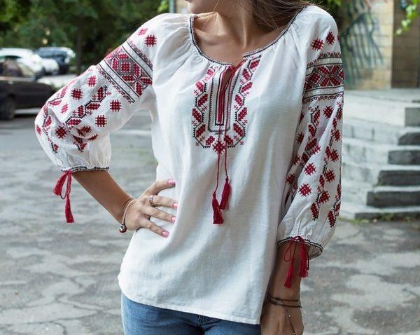 Славянская женская Рубаха - Плодородие