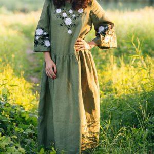 Славянское платье Бохо