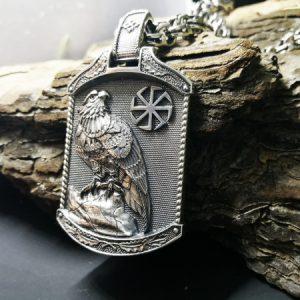 Медальон Сокол с Коловратом