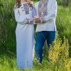 Славянский парный комплект свадебный
